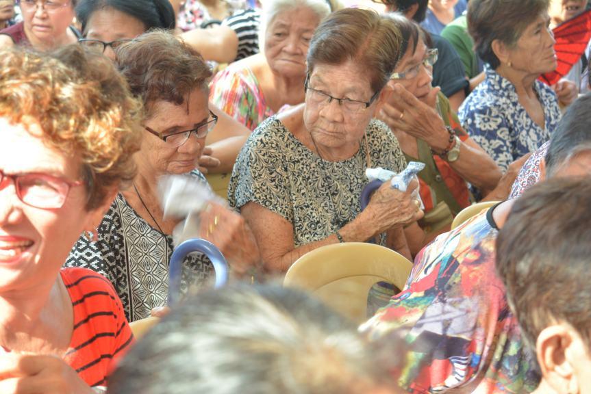 550 Ibaan Senior Citizen, Nabigyan Ng FluVaccine
